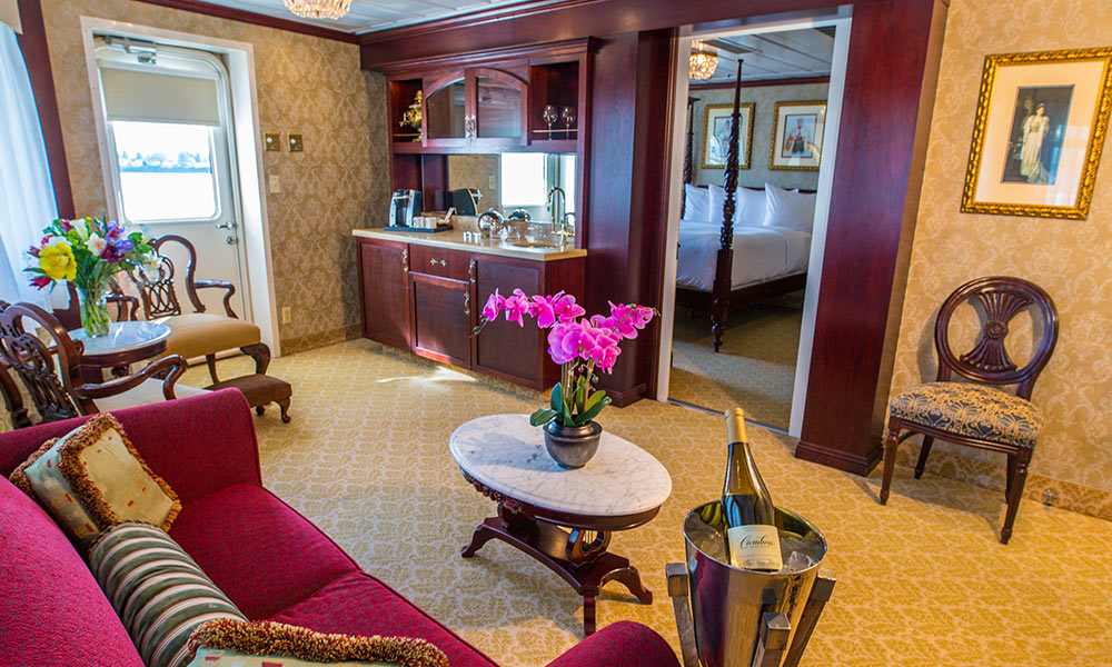 Luxury Suite<br>with Veranda - Deck 3